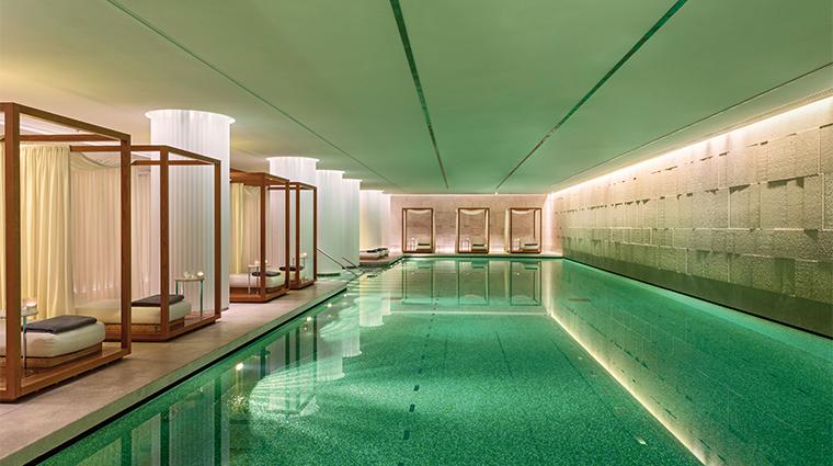 bulgari hotel london swimming pool
