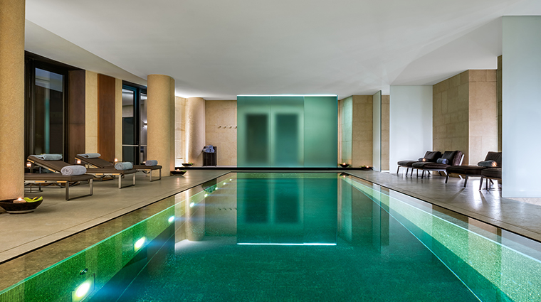 Bulgari Hotel Milan pool