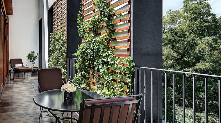 Bulgari Hotel Milan premium suite balcony