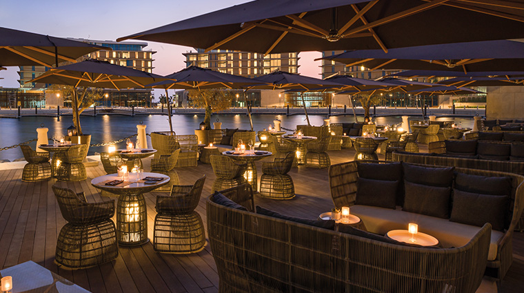 bulgari resort and residences dubai Il Cafe terrace