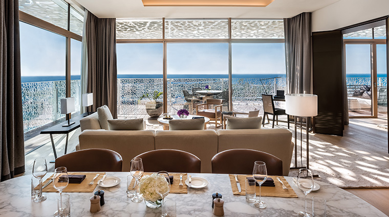 bulgari resort and residences dubai bulgari suite dining
