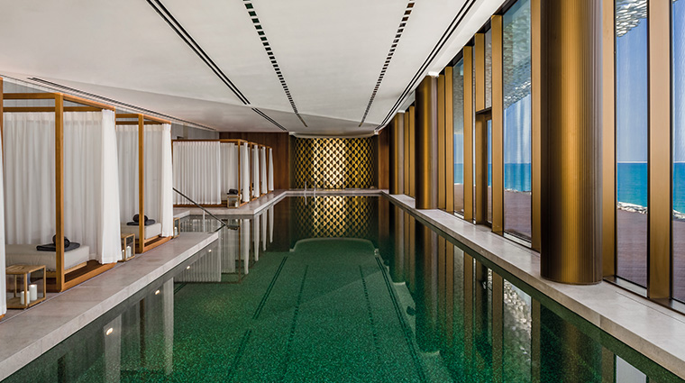 bulgari resort and residences dubai spa pool