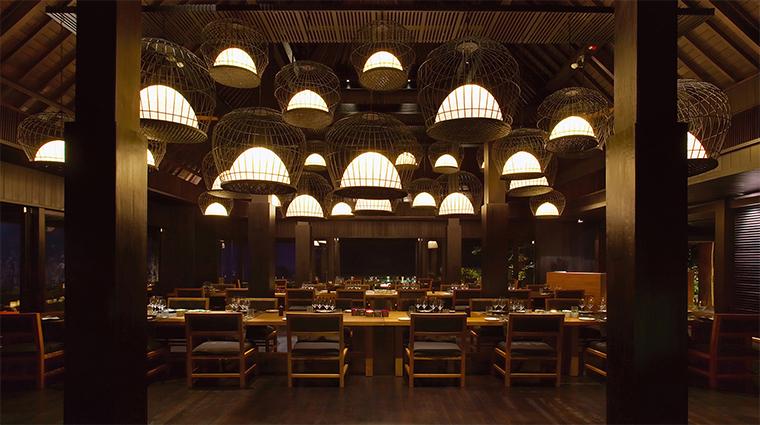 bulgari resort bali Sangkar restaurant table