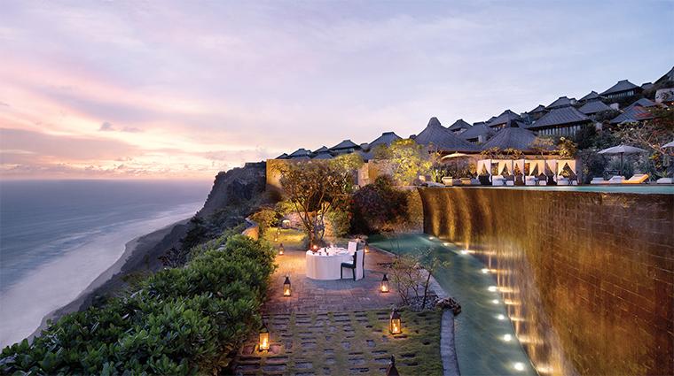 bulgari resort bali lower pool cliff