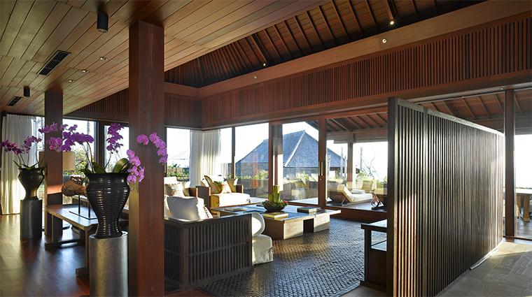 bulgari resort bali mansion living room