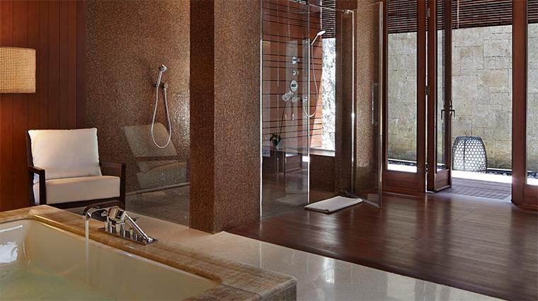 bulgari resort bali mansion shower