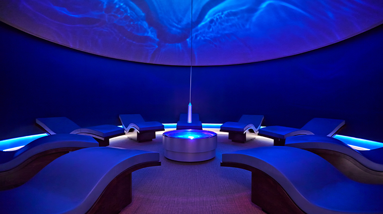 canyon ranch spa fitness wave room