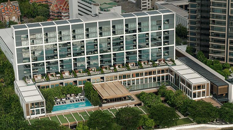 capella bangkok facade