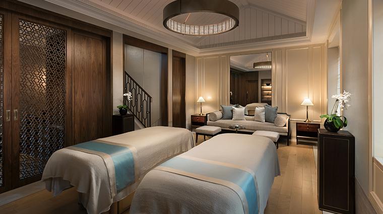 capella shanghai Auriga Spa Couple Suite