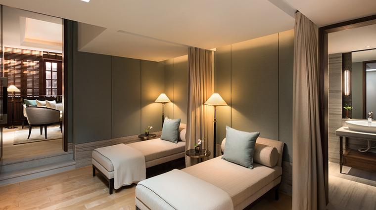 capella shanghai Auriga Spa Relaxation Room