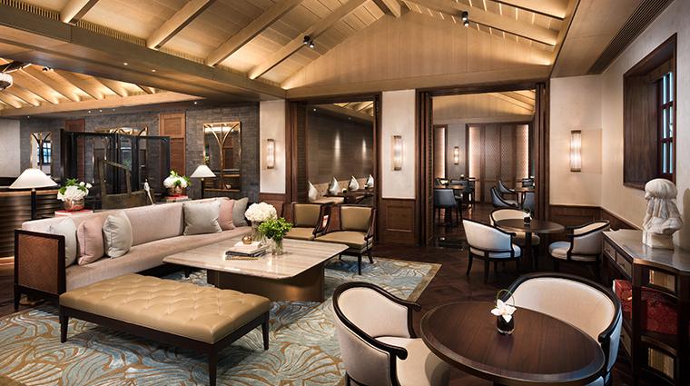 capella shanghai le Comptoir Lounge