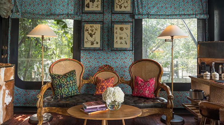 capella ubud bali living room