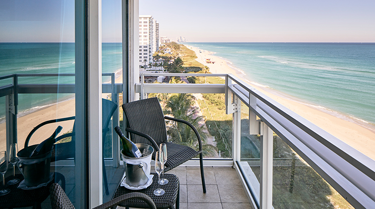 carillon miami wellness resort oceanfront balcony