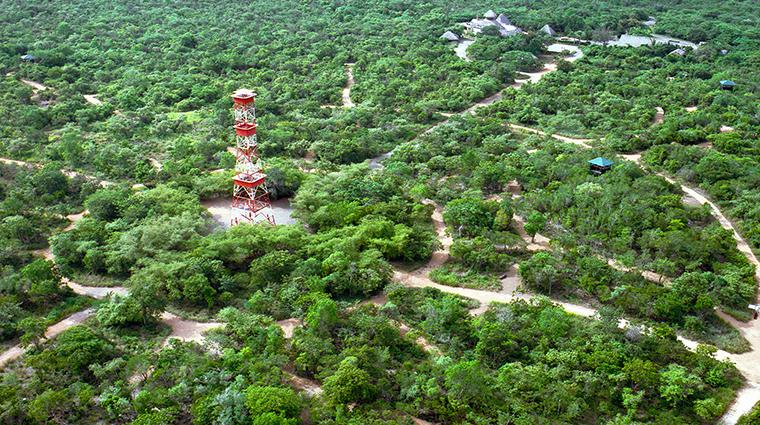 casa de campo resort villas aerial