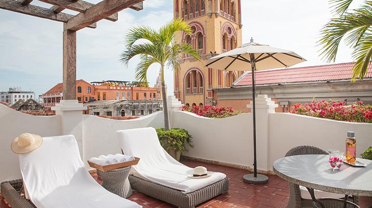 casa san agustin suite del virrey terrace