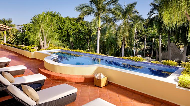 casa velas puerto vallarta presidential suite pool