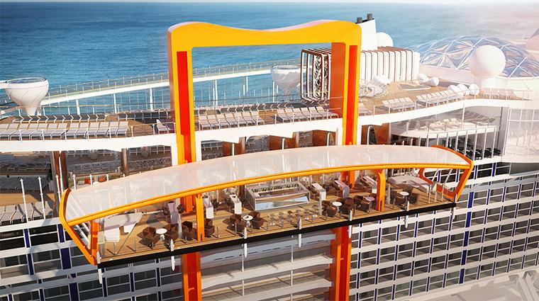 celebrity cruises exterior top