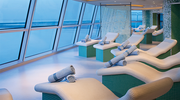 celebrity cruises spa