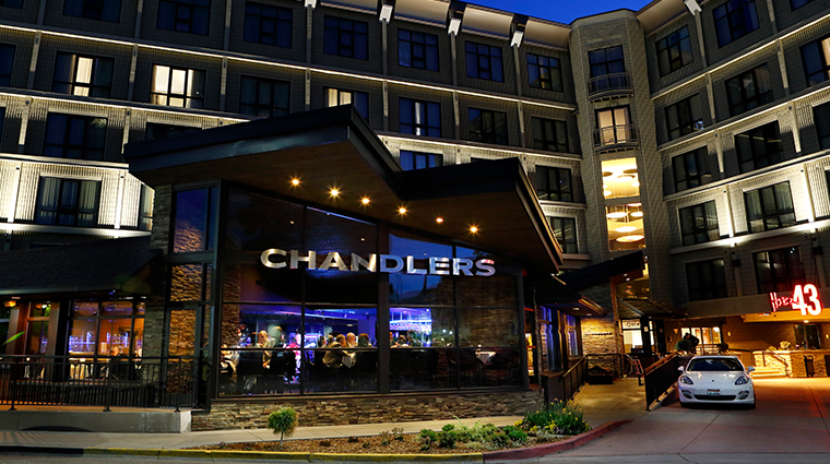 chandlers prime steaks fine seafood exterior