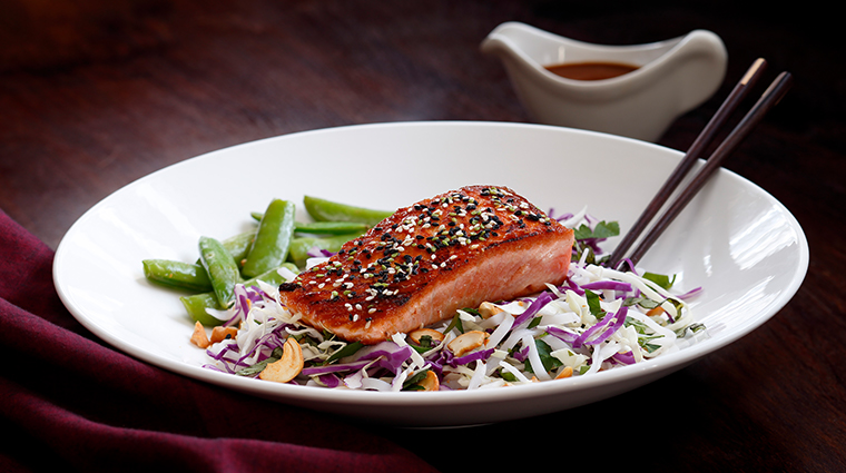 chandlers prime steaks fine seafood salmon entree