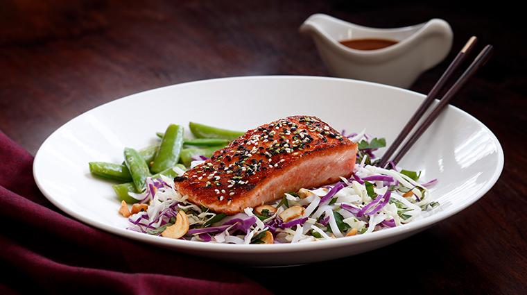 chandlers prime steaks fine seafood salmon entree