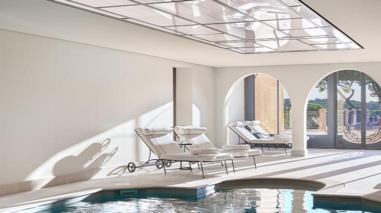 chateau de la messardiere interior pool