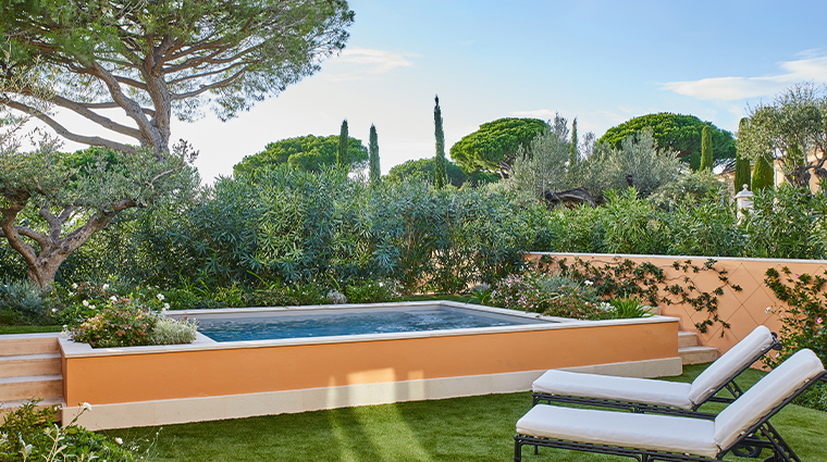 chateau de la messardiere private pool