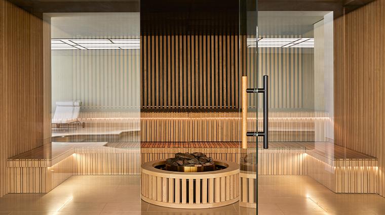 chateau de la messardiere sauna