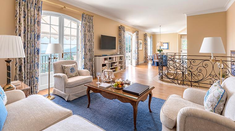 chateau saint martin spa Villa Ponant Living Room2
