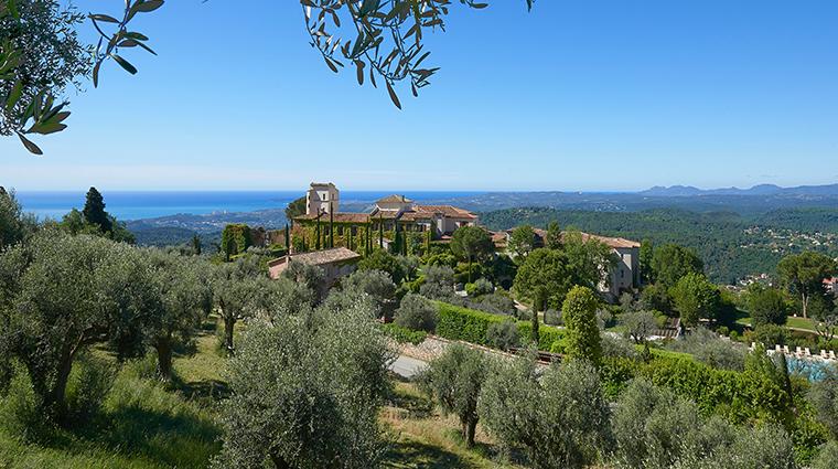 chateau saint martin spa aerial