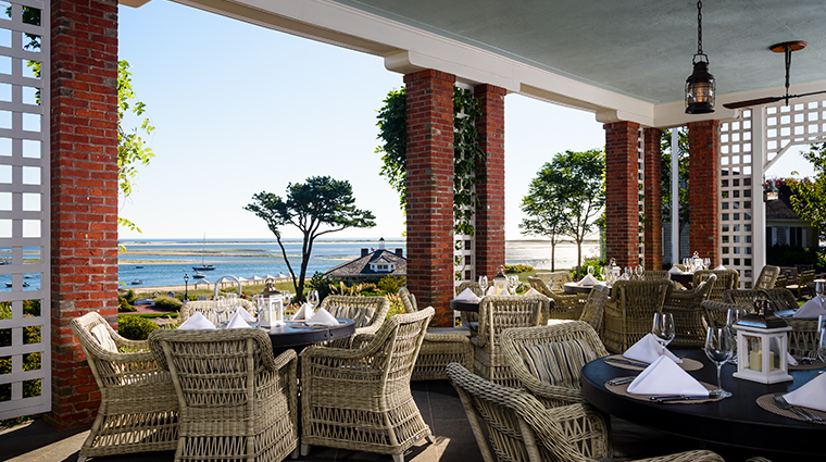 chatham bars inn resort and spa Veranda
