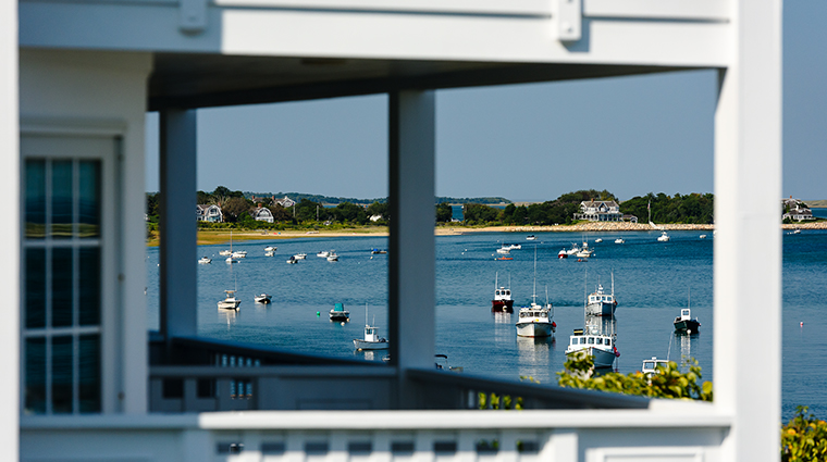 chatham bars inn resort and spa boats through porch
