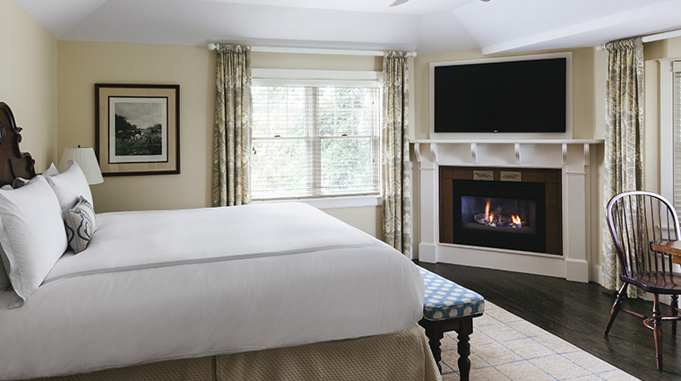 chatham bars inn resort and spa room with fireplace