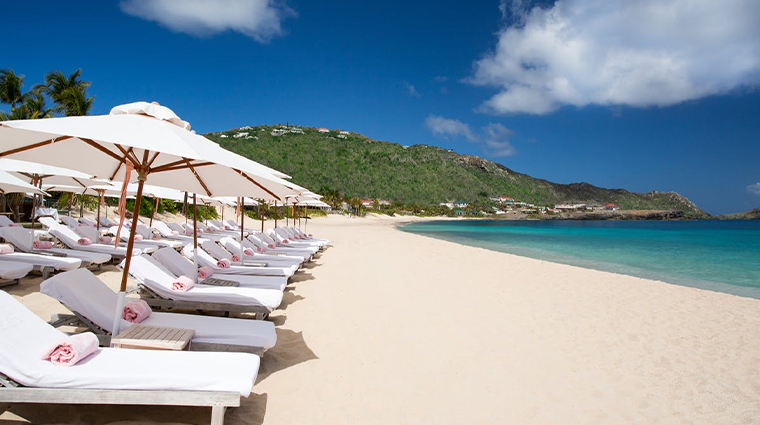 cheval blanc st barth isle de france beach