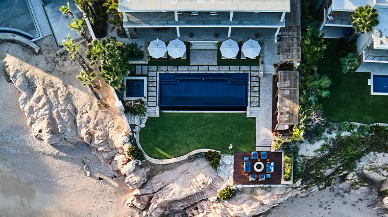 chileno bay resort residences auberge resorts collection villa brisa del mar aerial