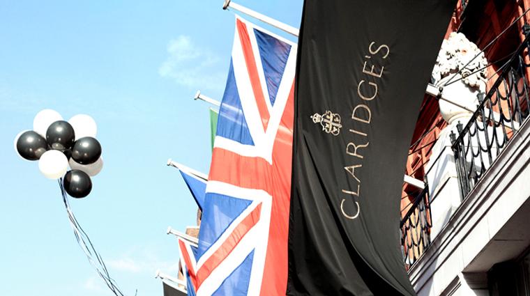 claridges flags