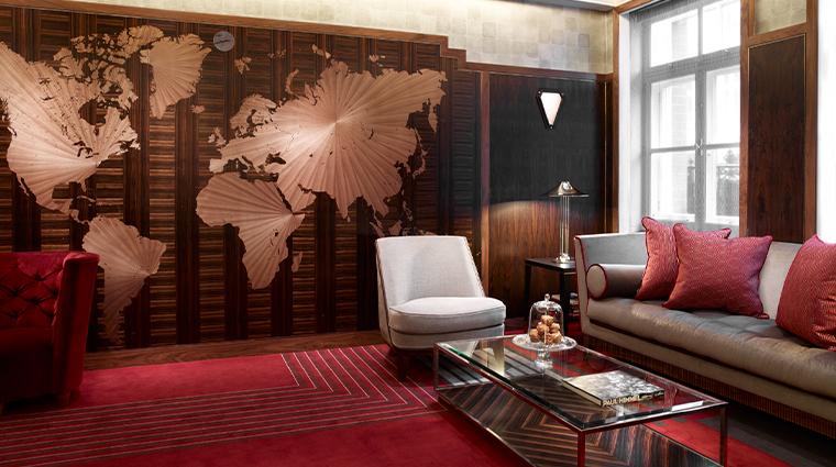 claridges map room