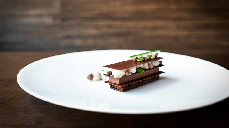 coi chocolate mille feuille