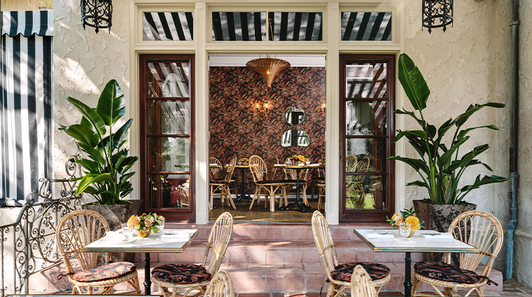 commodore perry estate auberge resorts collection dining