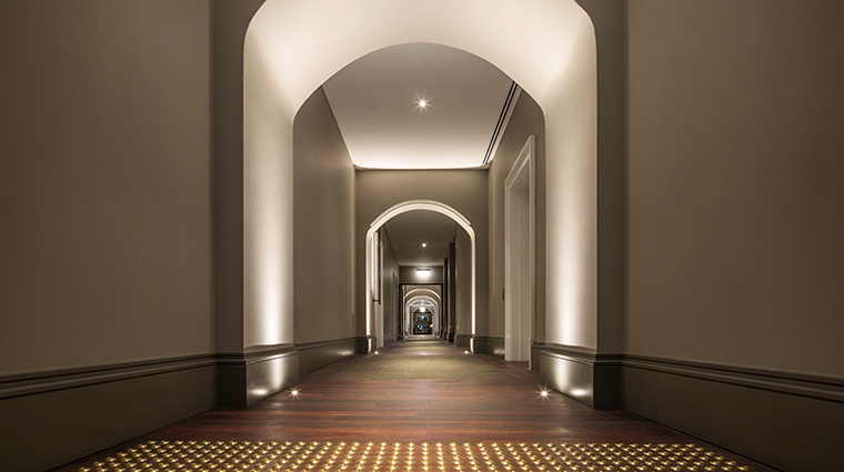 como the treasury hallway