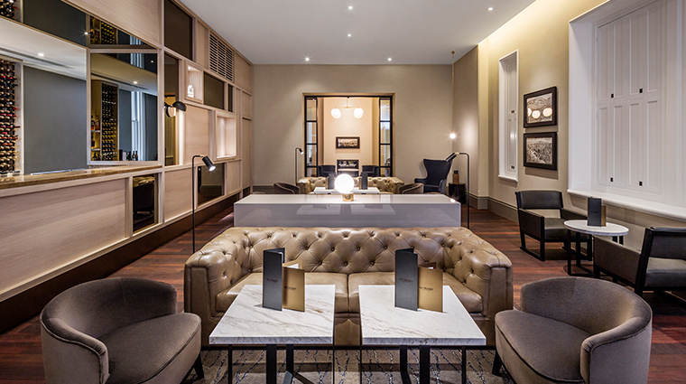 como the treasury lounge and bar interior