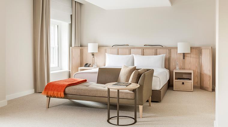 como the treasury suite bedroom