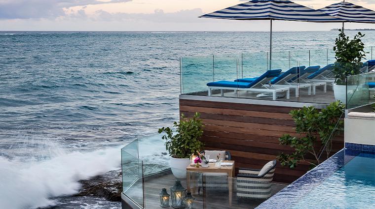 condado vanderbilt hotel ocean deck and ocean