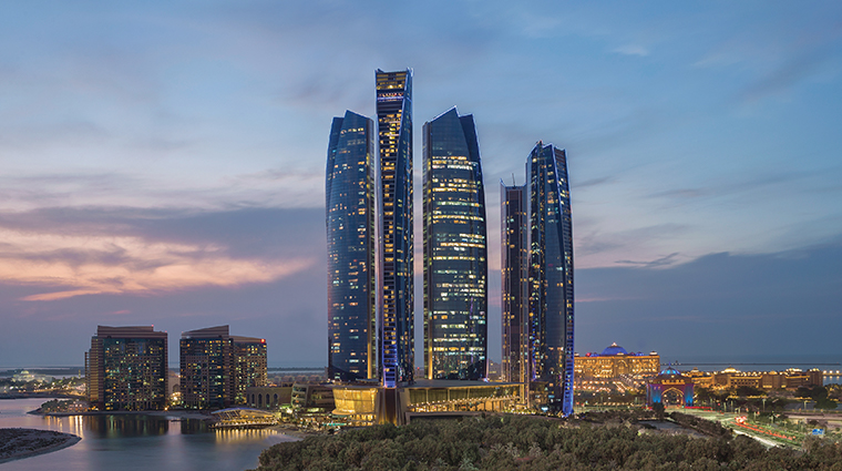 jumeirah at etihad towers exterior