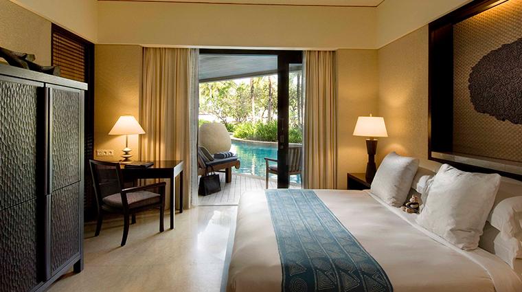Conrad Bali Deluxe Lagoon King Room