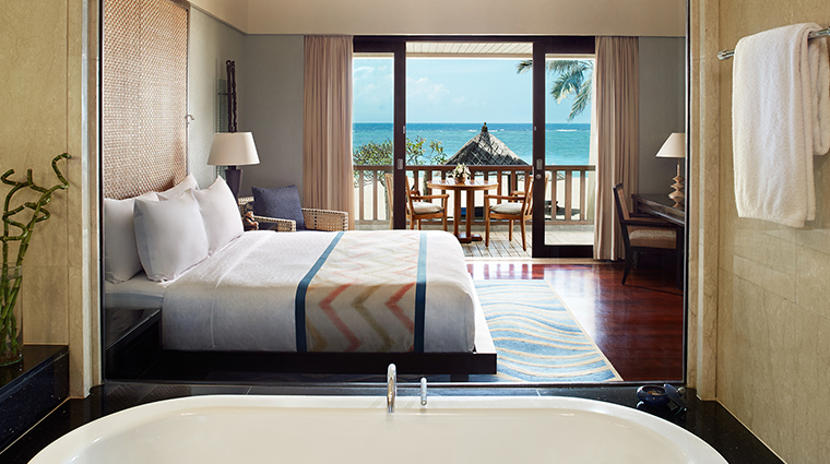 Conrad Bali Deluxe Ocean Bathroom