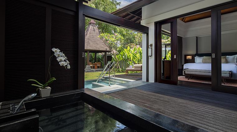 Conrad Bali Pool Villa Bath