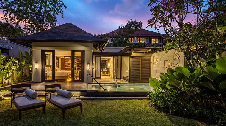 Conrad Bali Pool Villa Exterior