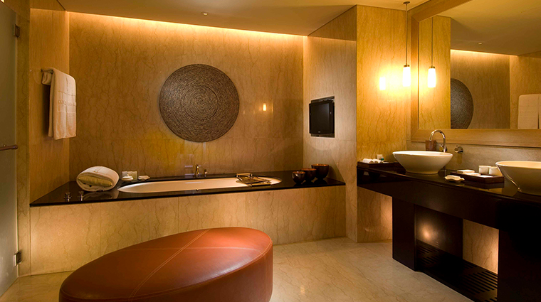 Conrad Bali Suite Bathroom