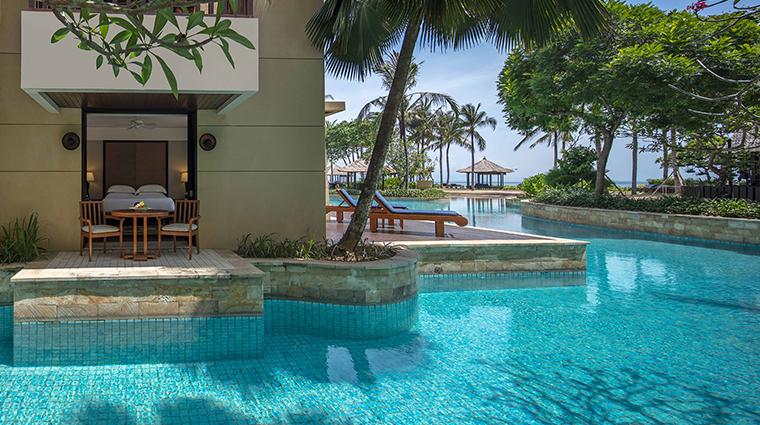 Conrad Bali Suite King Lagoon Exterior